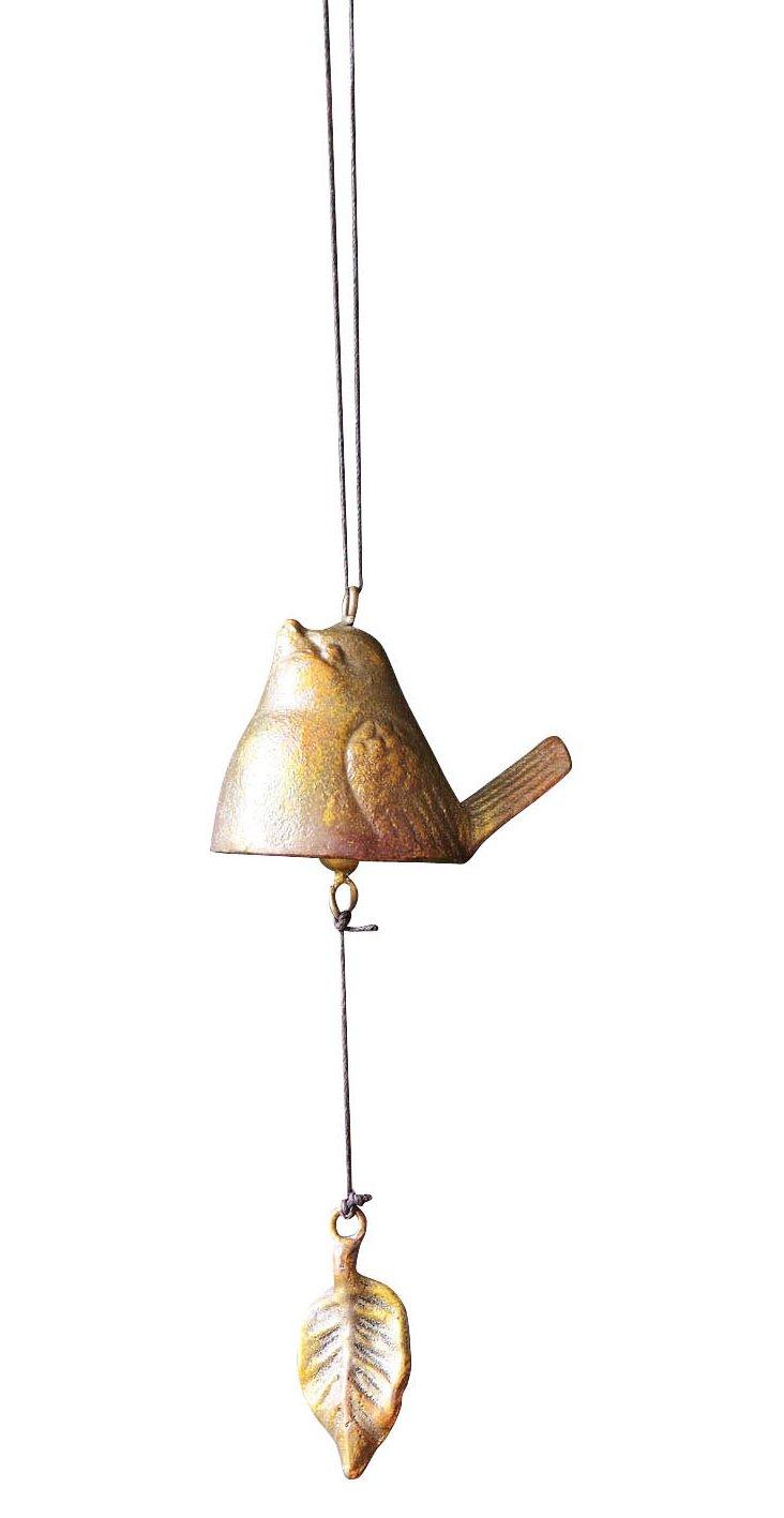 Pair of Bird Bells, Gold