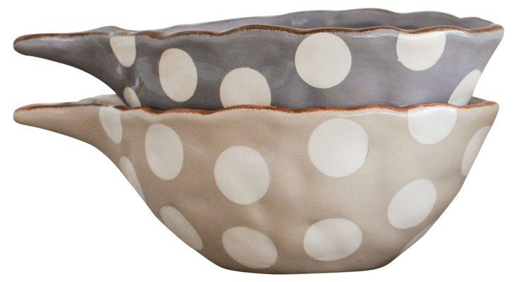 Asst. of 2 Polka Dot Fish Bowls