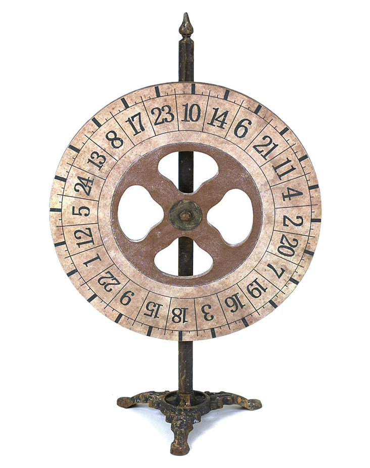 Small Game Wheel, Brown