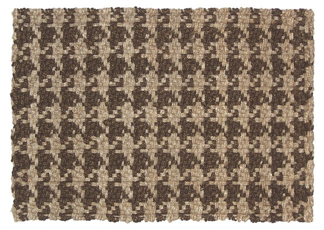 Kelly Jute Rug, Brown/Beige