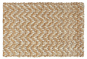 Herringbone Jute Rug, Natural