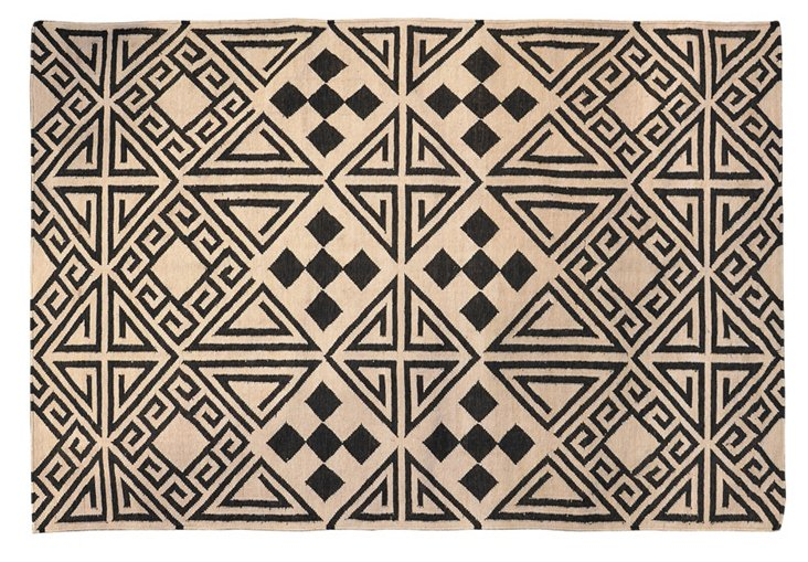 Dolores Outdoor Rug, Black