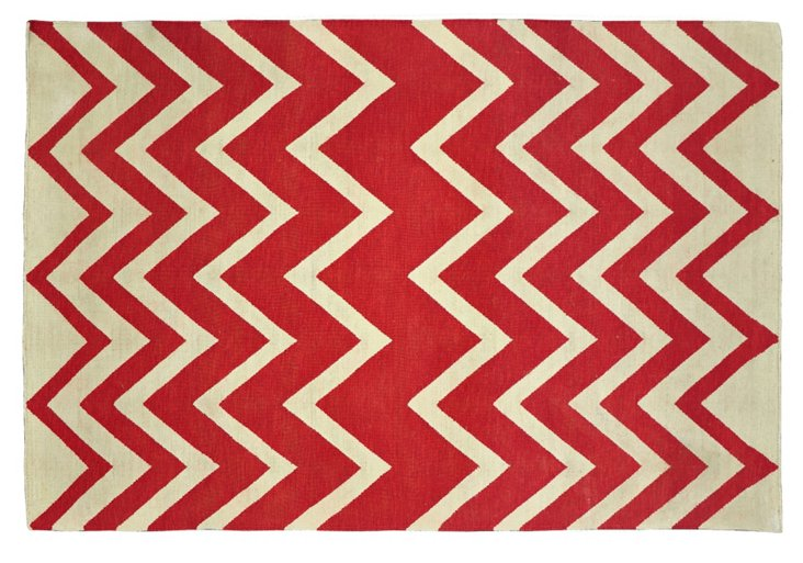 Chiara Outdoor Rug, Red