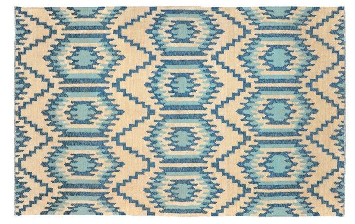 Bette Outdoor Rug, Blue