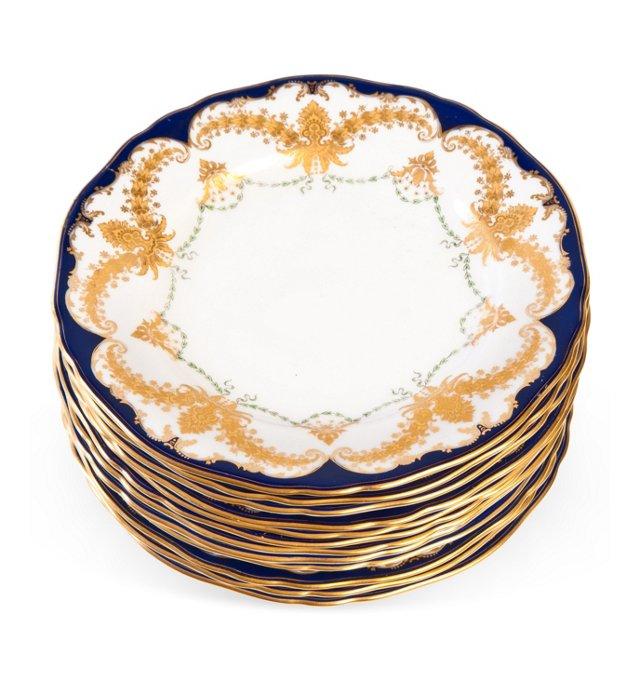 Royal Worcester Plates, Set of 12