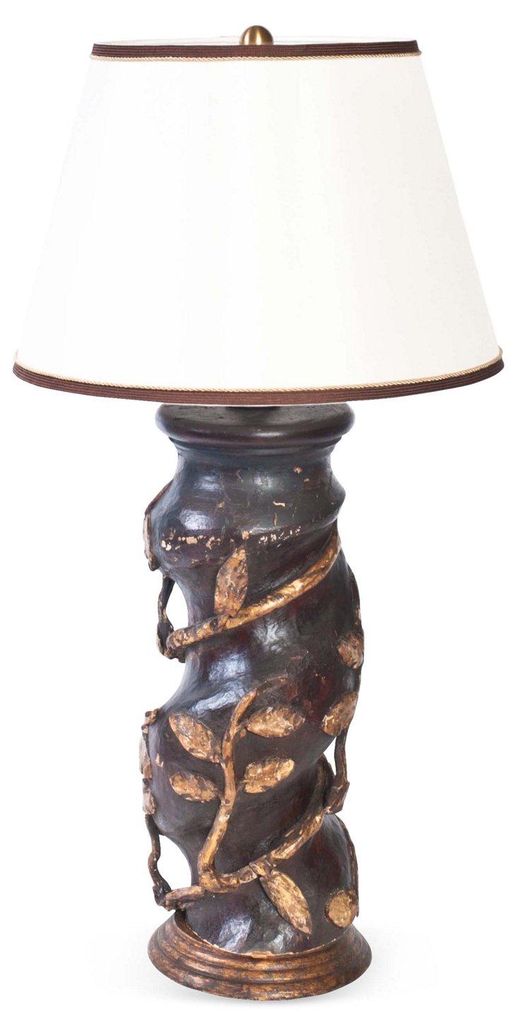 18th-C. Baldacchino Lamp