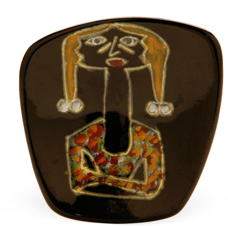 1960s Scandinavian Ceramic Dish