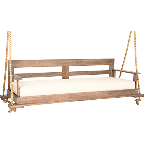 Bed Swing, Weathered Brown/Sand