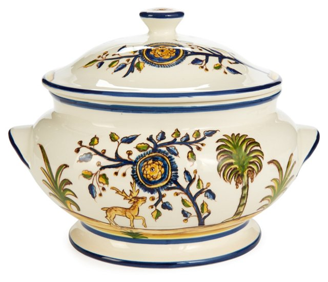 Gathering Deer Tureen