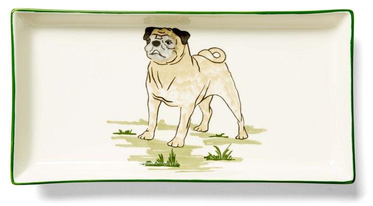 Pug Tart Tray