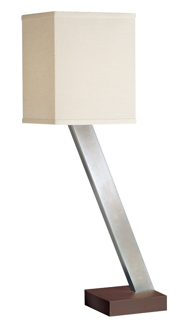 XYZ Table Lamp, Polished Nickel