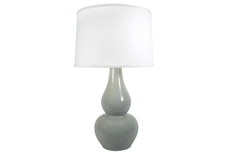 Carney Lamp, Light Gray