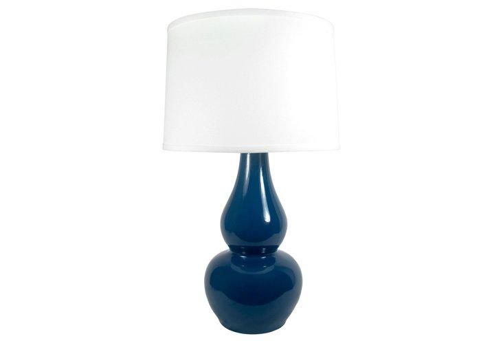 Carney Table Lamp, Loyal Blue