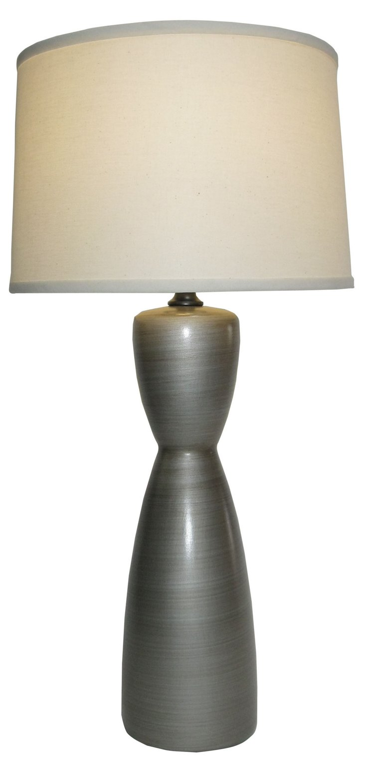 Marquee Table Lamp, Silver