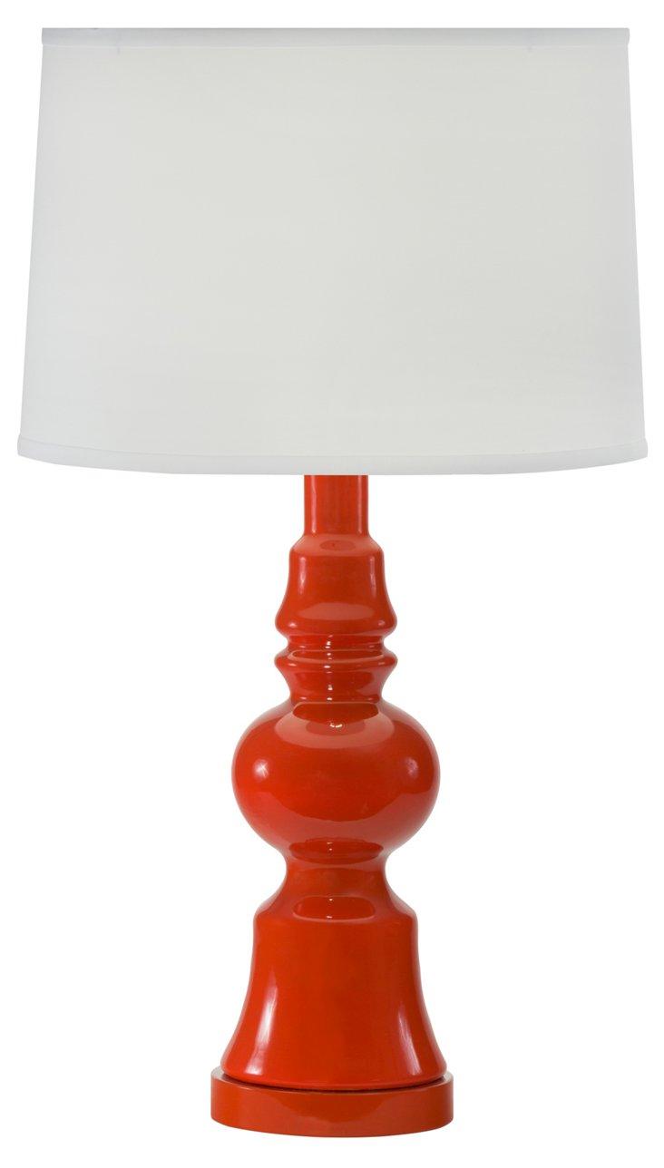 Aroura Table Lamp, Persimmon