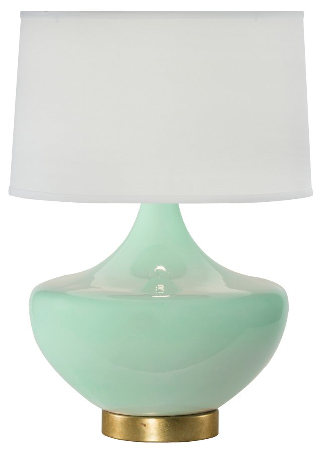 Arden Table Lamp, Seaglass