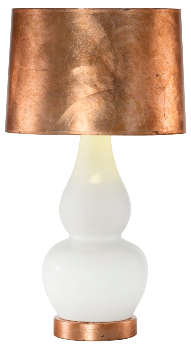 Olympia Table Lamp, Copper
