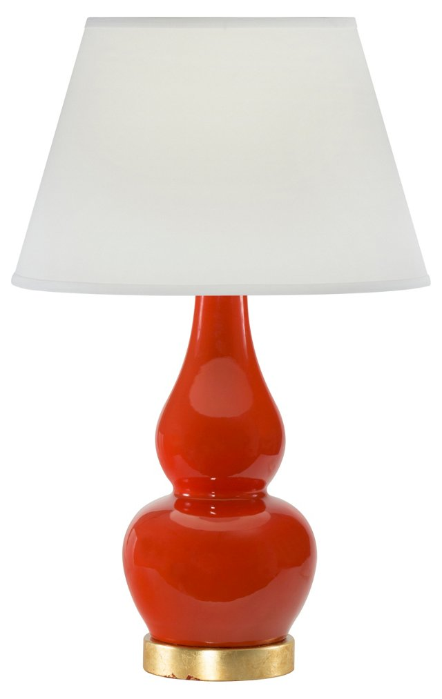Olympia Table Lamp, Persimmon