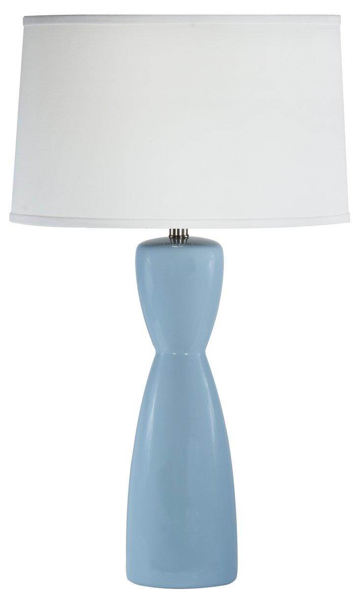 Tall Venus Table Lamp, Blue