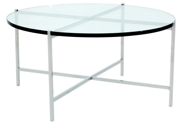 Jamer Round Cocktail Table