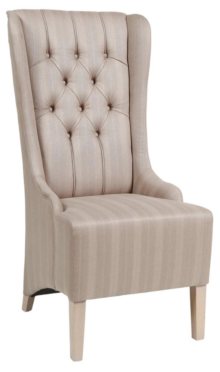 Pierre Captain Chair, Oatmeal