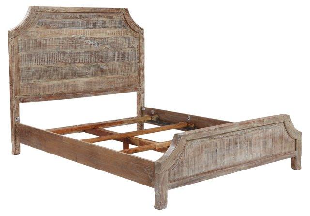 Weathered Pecan Poppy Bed