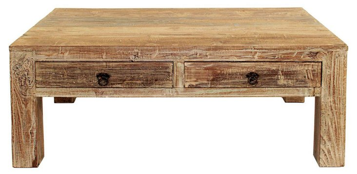 "Montauk 40"" Coffee Table, Driftwood"