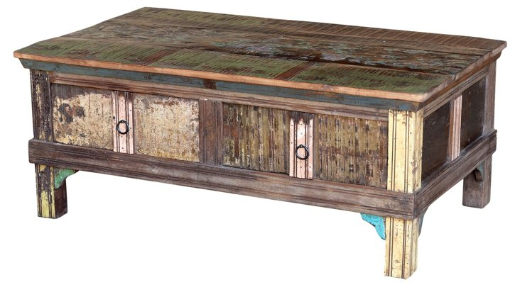 Odessa 2-Drawer Coffee Table