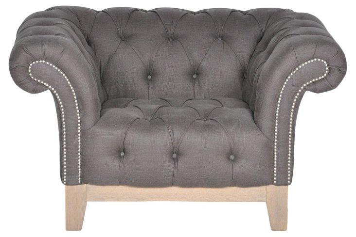 Finley Roll-Arm Chair