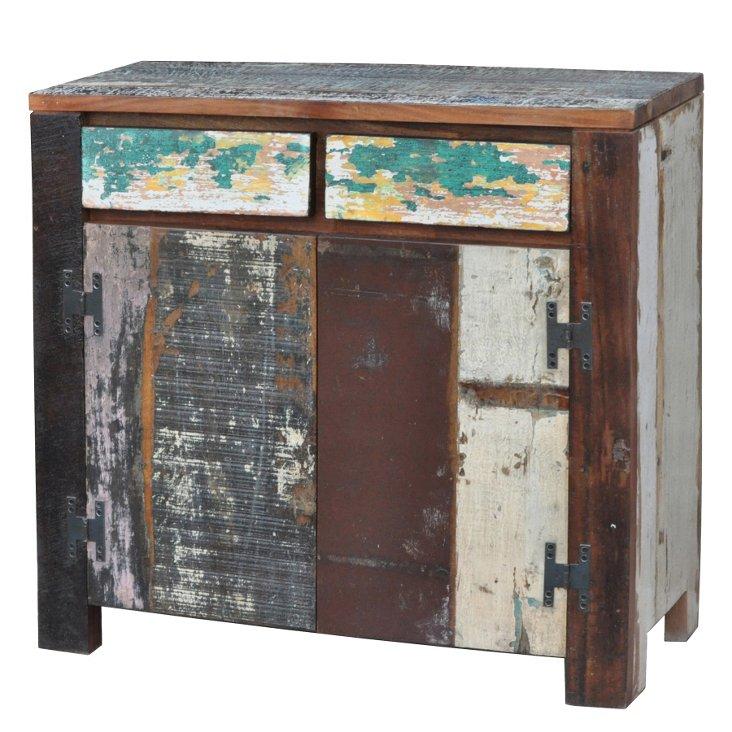 Taragon 2-Drawer Cabinet, Chestnut