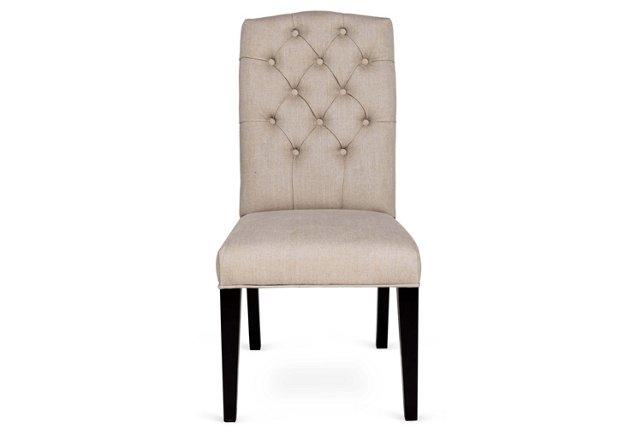 Marla Side Chair, Oatmeal