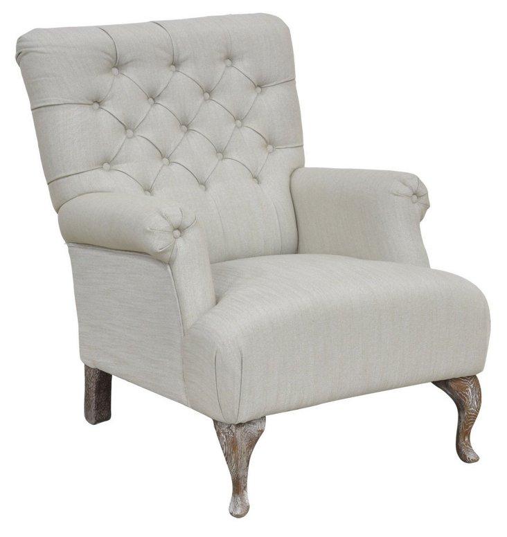 Lansing Club Chair, Dove Gray