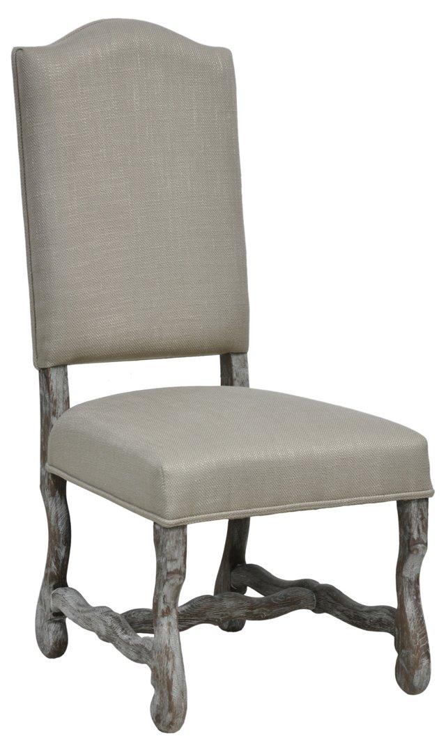 Jasper Side Chair, Sand