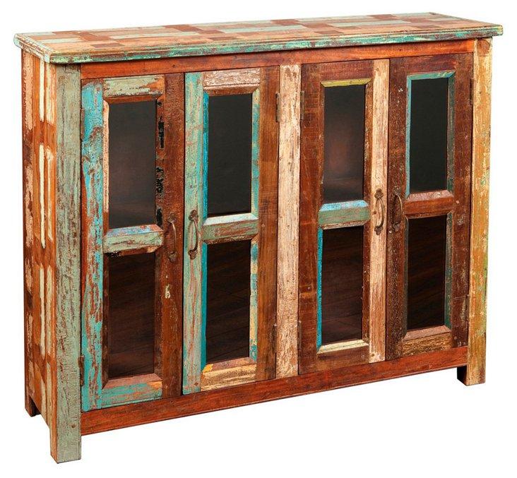 Portillo 4-Door Cabinet