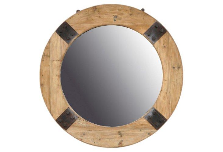 Gannon Round Mirror