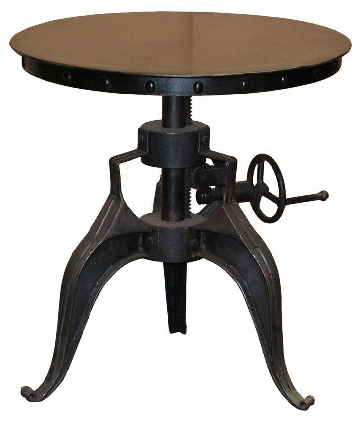 Sherman Crank Side Table