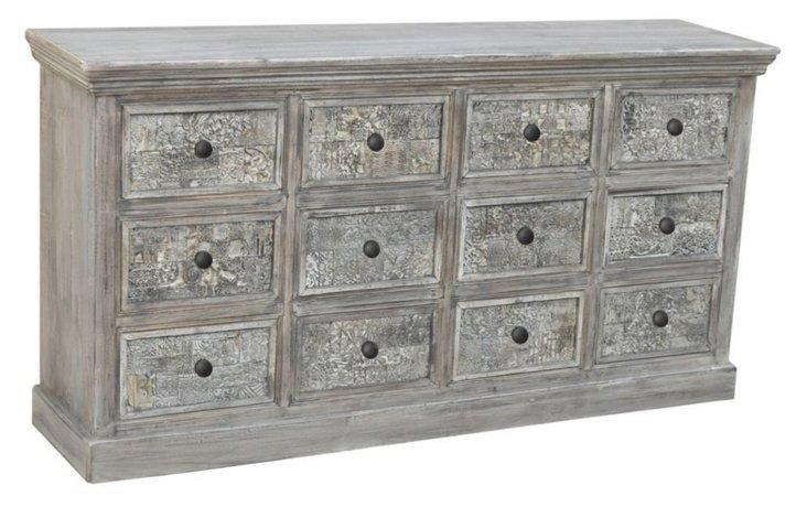 Elizabeth 12-Drawer Dresser