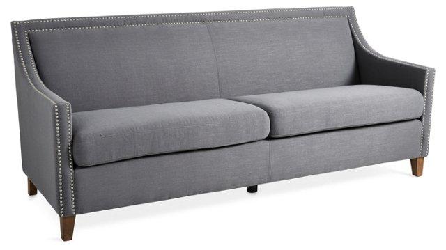 "Westfield 84"" Sofa, Charcoal"