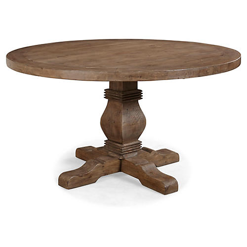 Leah 55 Round Dining Table
