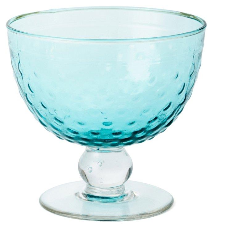 S/4 Dessert Bowls, Blue