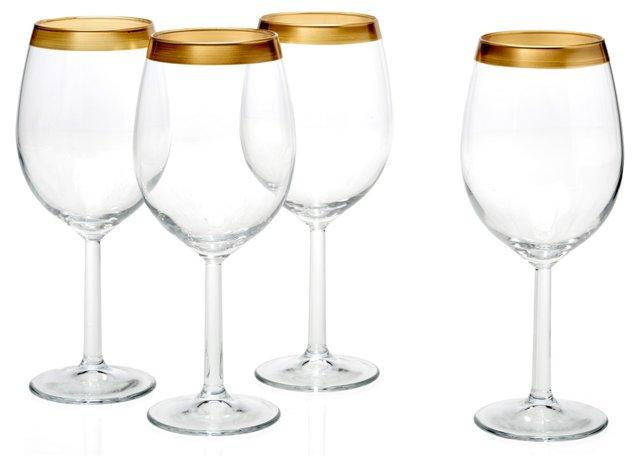 S/4 Villa Maria White-Wine Glasses