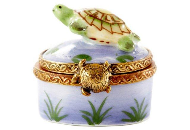 Chamart Swimming Turtle Box