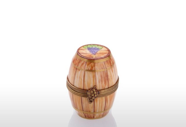 Chamart Wine Barrel Box