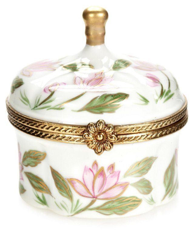 Water Lily Pagoda Limoges Box