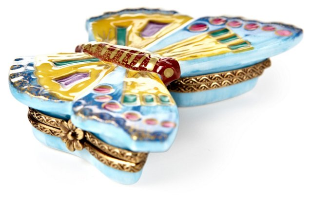 Butterfly Limoges Box