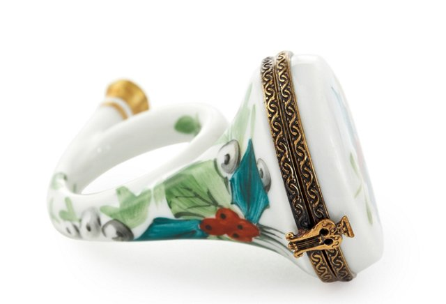 White French Horn Box