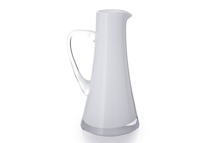 Purity Pitcher, White