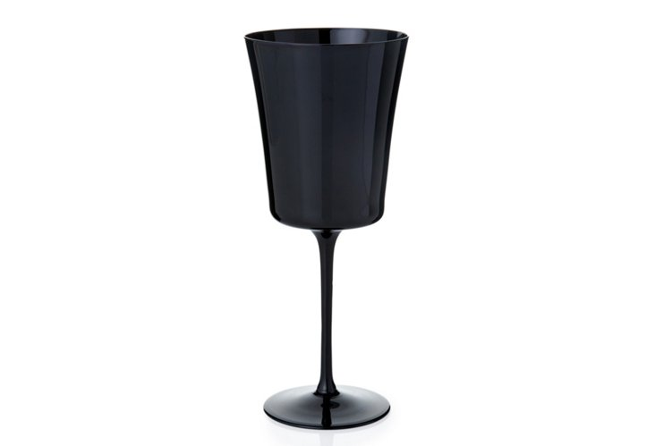 S/4 Purity American Goblets, Black