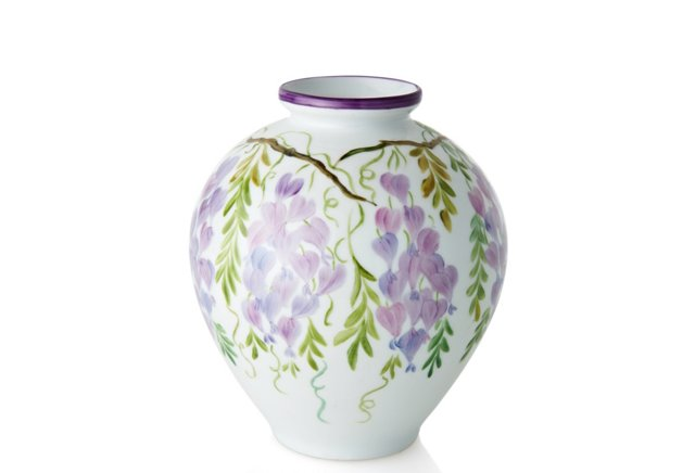 "7"" Wisteria Vase"