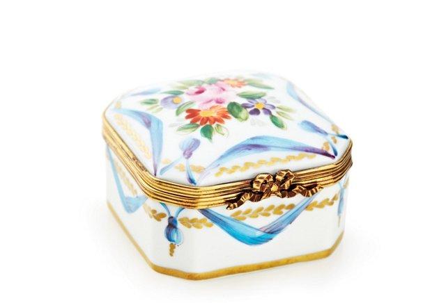 Blue Prisca Floral Box